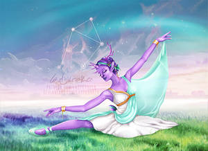 Starlight of Libra - 12 Zodiac Ladies