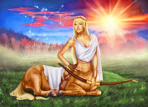 AppleJack of Sagittarius - 12 Zodiac Ladies MLP