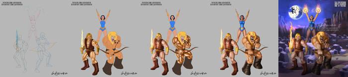 Thundarr the Barbarian - Steps Digital Timelapse