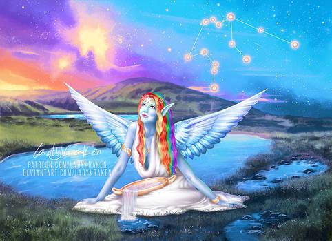 Rainbow of Aquarius - 12 Zodiac Ladies MLP