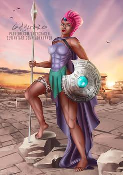 Tempest Shadow Ares Goddess - Patreon Reward