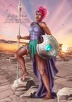 Tempest Shadow Ares Goddess - Patreon Reward by LadyKraken
