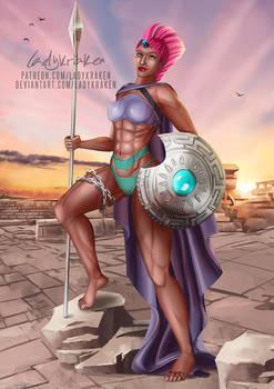 [Bikini] Tempest Shadow Ares Goddess - Patreon Rew
