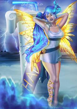 Megara Blue Death Fairy Madness - Patreon Reward