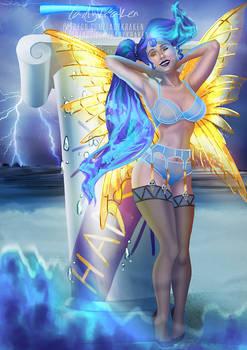 [Bikini] Megara Blue Death Fairy Madness - Patreon