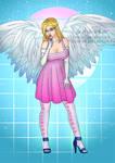 Jess Angel Singstar - Commissions OPEN by LadyKraken