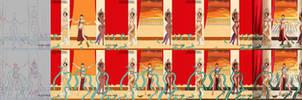 SciFi Princesses T-Steps Digital Painting Tutorial