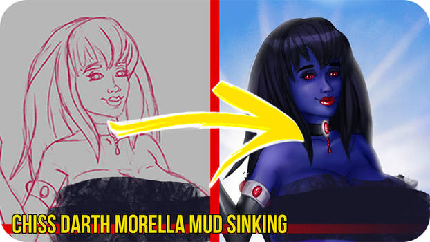 Chiss DMorella Mud -Painting Video Timelapse
