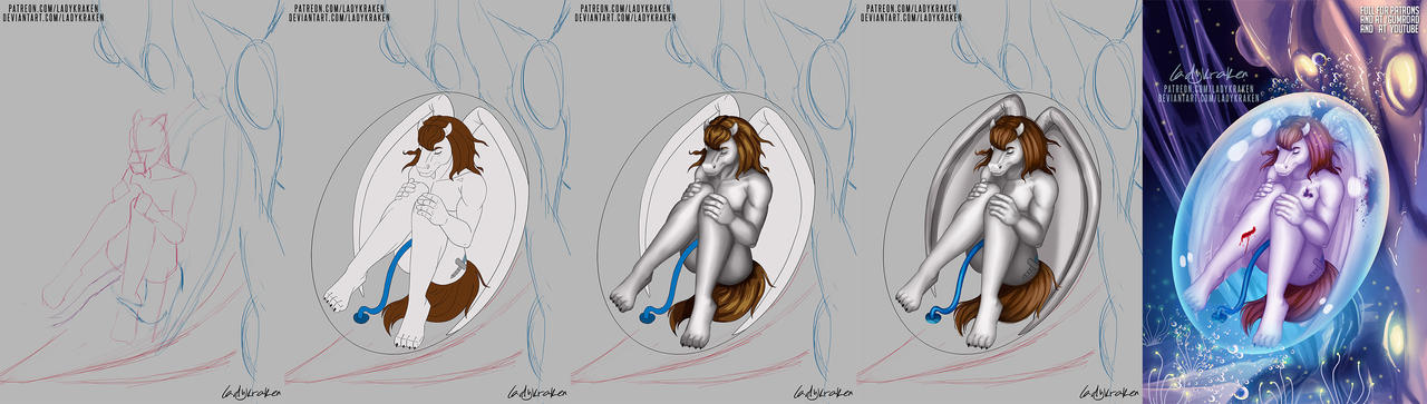 Viper Artificial - Steps Digital Painting Tutorial