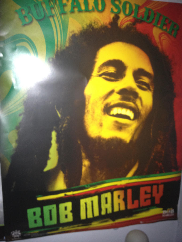 Bob Marley Poster P By TheManThatLaughed