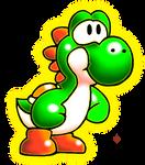 Green Yoshi Sprite Remaster