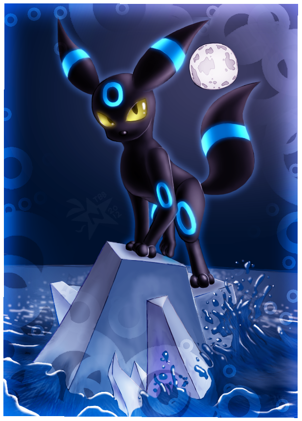 Shiny Umbreon by NeppyNeptune