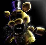 Golden Freddy - IT'S ME + SPEEDPAINT