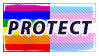 Protect LGBT+ Stamp by NeppyNeptune