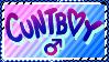 Cunt Boy Stamp by NeppyNeptune