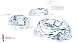 1 Hr. Design Ideation Sketches