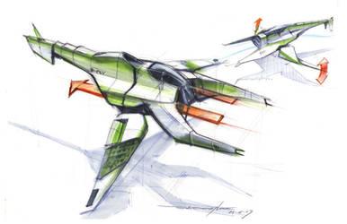 Flapper aircraft