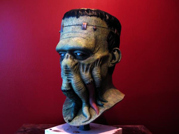 Frankenthulhu mask by AfterlightRob