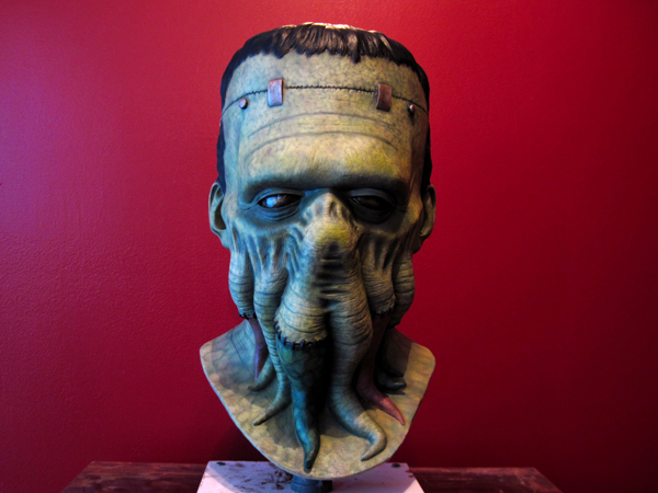 Frankenthulhu mask by AfterlightRob