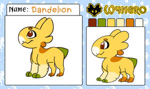 Dandelion MYO Wyngro