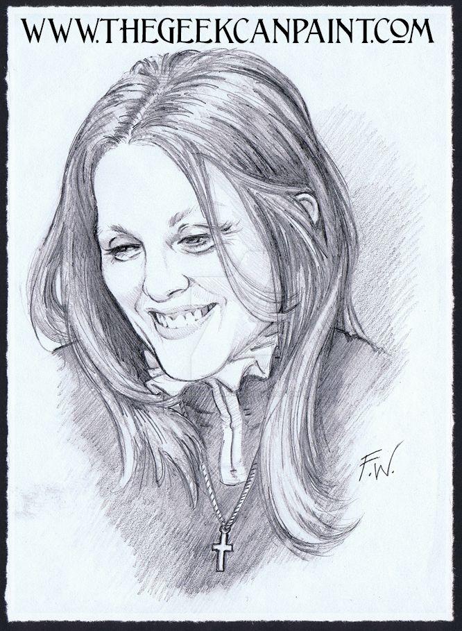 Hazel Drawing by TheGeekCanPaint