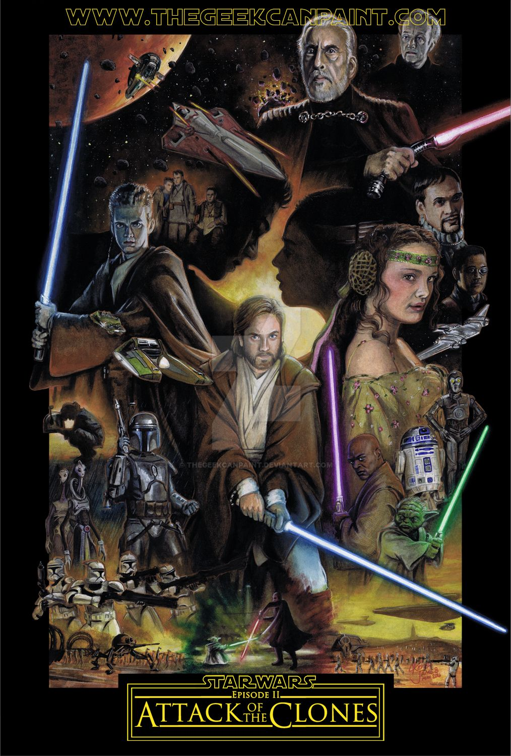 Star Wars II Attack of the Clones Movie HD free download 720p