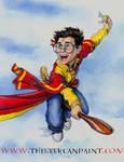 Harry Potter: Book 1 - Slipcase Illustration
