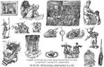 Harry Potter: Book 1 Chapter 5 Vignette Drawings