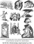 Harry Potter: Book 1 Chapter 12 vignette Drawings