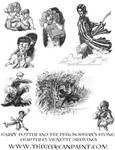 Harry Potter: Book 1 Chapter 13 Vignette Drawings