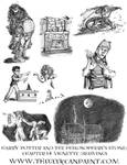 Harry Potter: Book 1 Chapter 14 Vignette Drawings