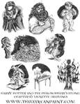 Harry Potter: Book 1 Chapter 16 Vignette Drawings
