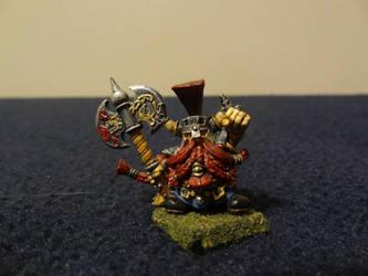 Slayer-King Ungrim Ironfist ~ Model by Unhodin