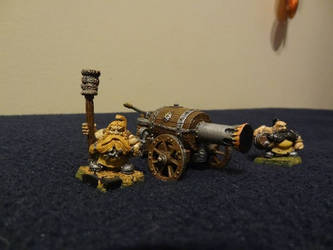 Dwarf flame cannon and Crew pt 2 by Unhodin