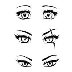 eyes sketch 101
