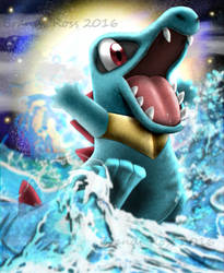 Totodile by BrandiRoss