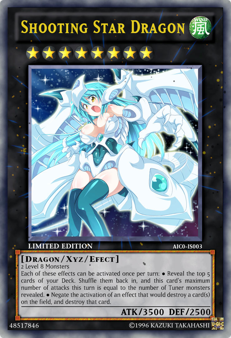 Shooting Star Dragon By Aichi1441 On Deviantart