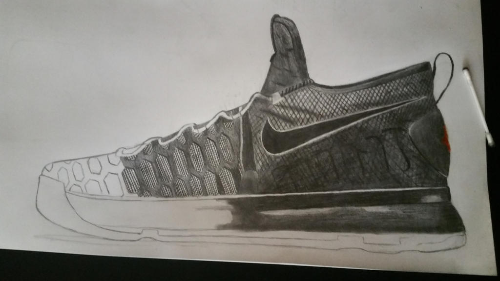 how to draw kd 9