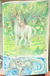 Hadley unicorn by Weird-Honey