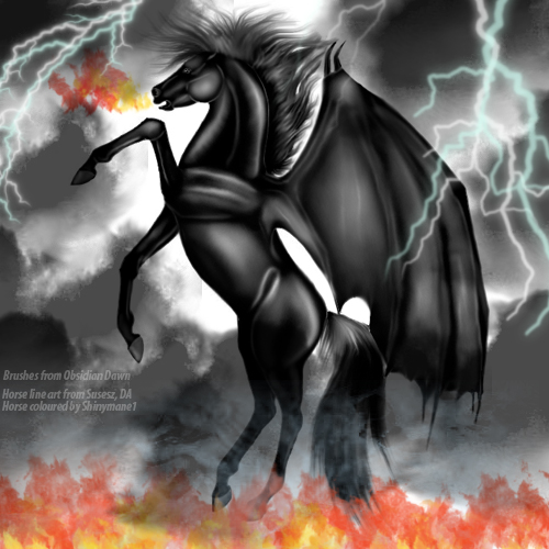 Dragon Horse by Shinymane1