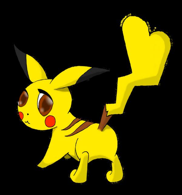 Pikachu Female - DP tail by optimisticxpessimist on DeviantArt