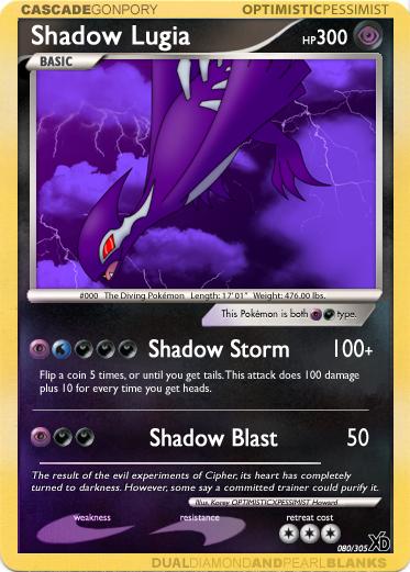 XD 080: Shadow Lugia by optimisticxpessimist on DeviantArt