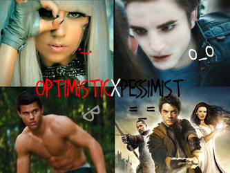 4 Faces of OXP II by optimisticxpessimist