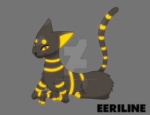 Fakemon: Eeriline [Color]