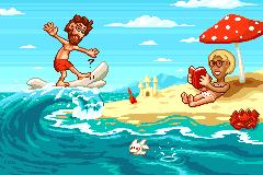 Surfin' Hawaii by robotriot