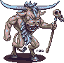 Ulric The Cow Demon by robotriot