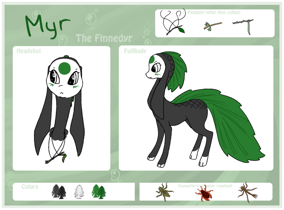 Myr - the finnedyr by PatheticCreature