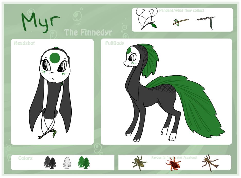 Myr - the finnedyr by PatheticCreature