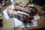 Goblin mech arms by gimlee