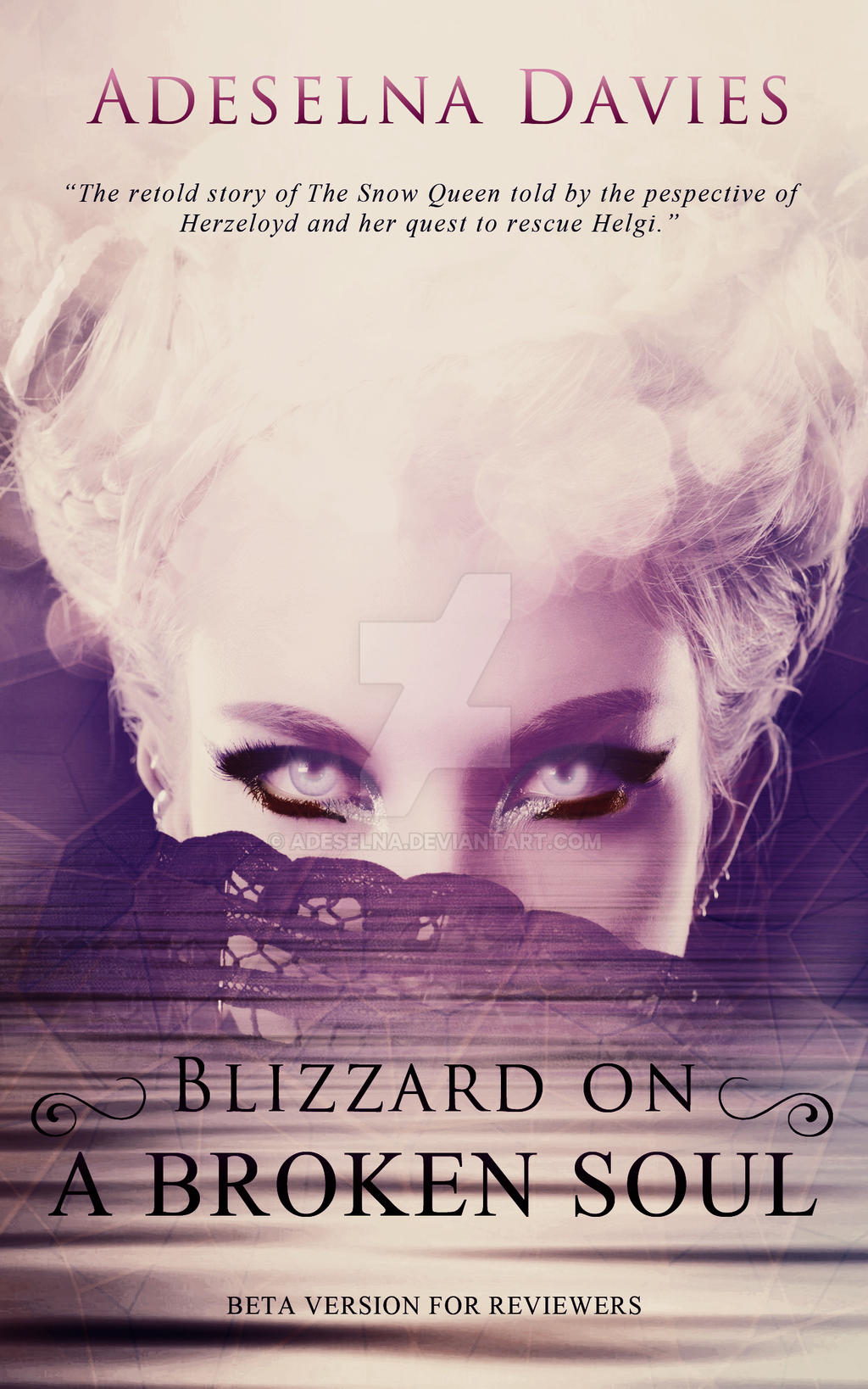 Blizzard on a broken soul by Adeselna